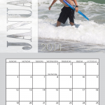 Transparent 11x17 Simplex Calendar for 2014